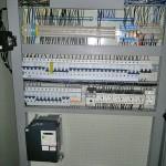 Palackozó üzem villamos vezérlő szekrény